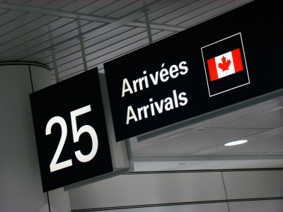 ورود به کانادا