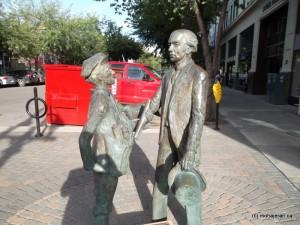 مجسمه دومین نخست وزیر کانادا