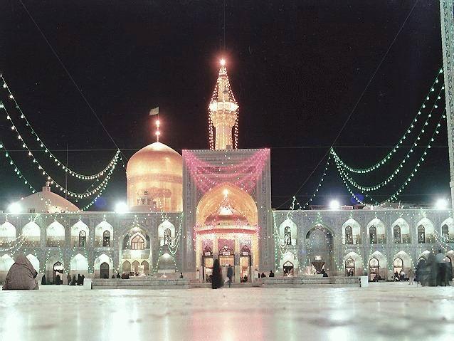 حضور در مشهد مقدس