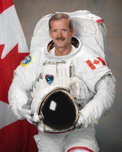 کریس هدفیلد فضانورد کانادایی