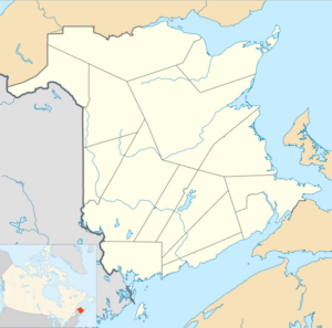 New Brunswick Map
