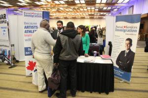 شرکت مهاجرتی پارسای در نمایشگاه بین المللی تورنتو