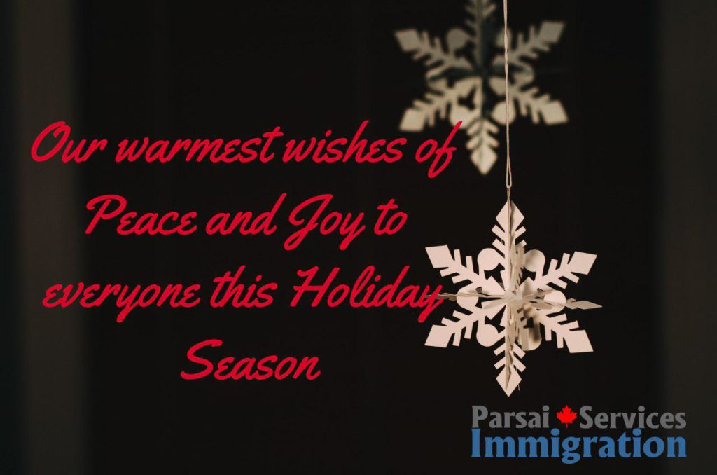 Happy Holidays Parsai Immigration Services