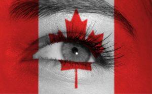چشم و پرچم کانادا